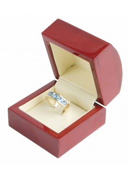 M-7  RING WOODEN BOX 60x60x50 mm.