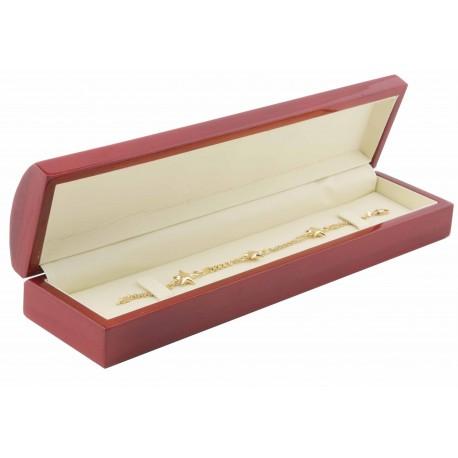 Estuche de madera para pulsera de joyeria y joyas M11