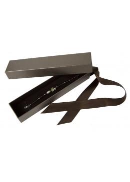 Caja de carton con lazo para pulsera de joyeria bisuteria y joyas TF3