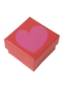 Caja de carton para anillo pendientes sortija de joyeria bisuteria y joyas SP42TES 51x51x33 mm.