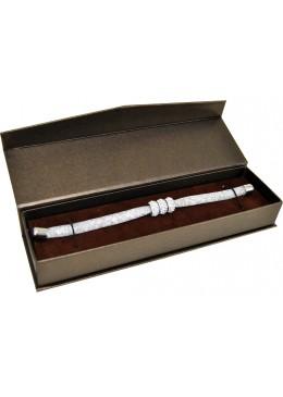 Estuche de carton con cierre imantado para Pulsera extendida de joyeria bisuteria y joyas MG4