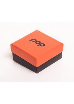 Caja de carton para pendientes de joyeria bisuteria y joyas PO61