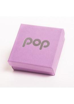 Caja de carton para juego y colgante de joyeria bisuteria y joyas PO81