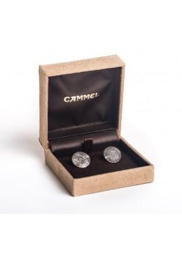 Estuche forrado material textil alta calidad para pendientes de joyeria y joyas de alta gama CA50