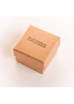 Caja de carton para anillo sortija de joyeria y bisuteria NT42