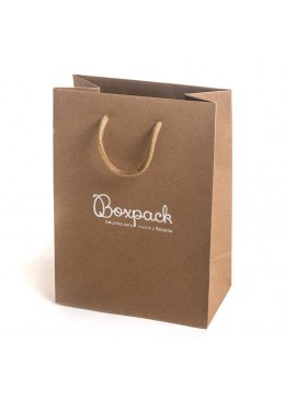 Bolsas de papel Kraft para joyeria bisuteria y relojeria BK-L