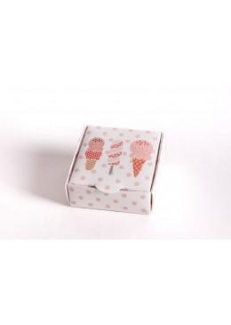 Caja de carton infantil para joyeria bisuteria y joyas I1