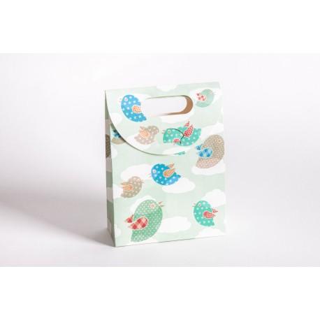 Bolsas de carton infantiles en colores surtidos para niños niñas y bebes