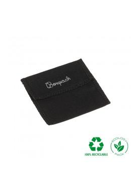 Bolsa algodon ecologica personalizable negra 80x80x40 mm CF-8-N