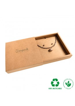E-PF-4 CAJA ECO COLLAR O ADEREZO 180x180x33 Mm.
