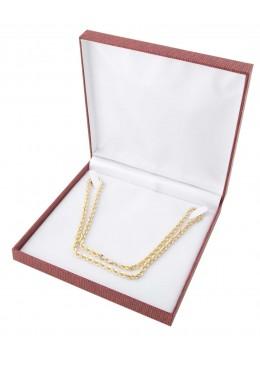 Estuche forrado en polipiel para collar gargantilla N880