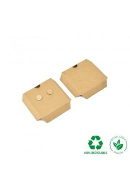 INTERIOR ECO PENDIENTES Y COLGANTE KRAFT 55x55x13 mm IC-PF1-P
