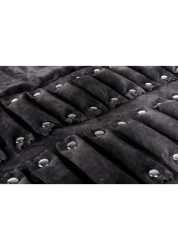 Manta de polipiel enrrollable para anillos sortijas de joyeria bisuteria y joyas MJ3