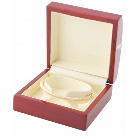Estuche de madera para armis reloj y pulsera rigida joyas m3