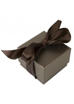 Caja de carton con lazo para anillo pendientes colgante de joyeria bisuteria y joyas TF1