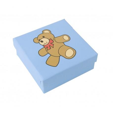 Caja de carton para pendientes de bebe infantil para joyas joyeria y bisuteria SP41