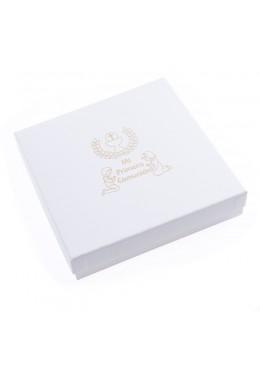 Caja de carton de comunion para collar gargantilla anillo pendientes colgante pulsera de joyeria bisuteria joyas CMP-18