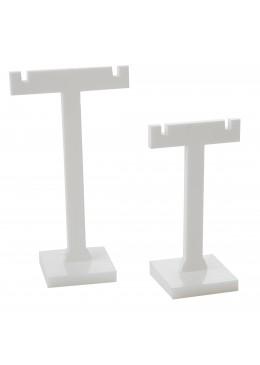 Expositores de plastico para pendientes de joyeria bisuteria y joyas D6