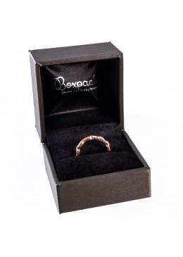 Estuche forrado imitacion seda para anillo sortija de joyeria y joyas S-16-S