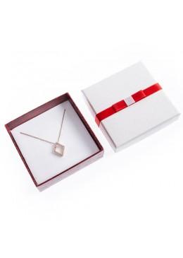 Caja de carton imitacion cocodrilo para juego y colgante de joyeria bisuteria y joyas SW-81