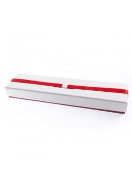 Caja de carton imitacion cocodrilo para pulsera extendida joyeria y bisuteria 233x53x25 Mm. SW-51