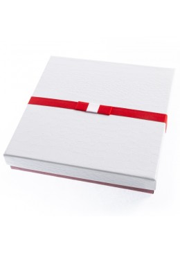 Caja de carton imitacion cocodrilo para collar y aderezo de joyeria bisuteria y joyas SW-18