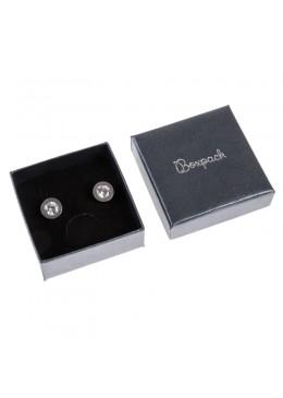 Caja de carton efecto perlado para juego y colgante de joyeria bisuteria y joyas Q-61