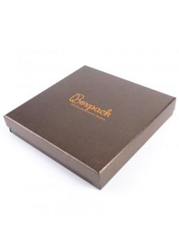 Caja de carton efecto perlado para collar de joyeria bisuteria y joyas Q-18