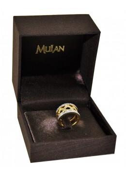 Estuche forrado de tela para anillo sortija de joyeria bisuteria y joyas B2