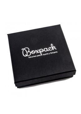 Caja de carton forrada de papel para Collar gargantilla de joyeria y bisuteria EP17
