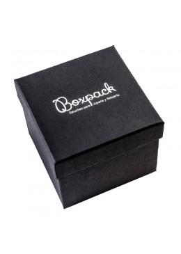 Caja de carton forrada de papel para brazalete o reloj de joyeria y bisuteria EP99