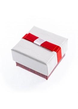 Caja de carton imitacion cocodrilo para anillo sortija de joyeria bisuteria y joyas SW-42