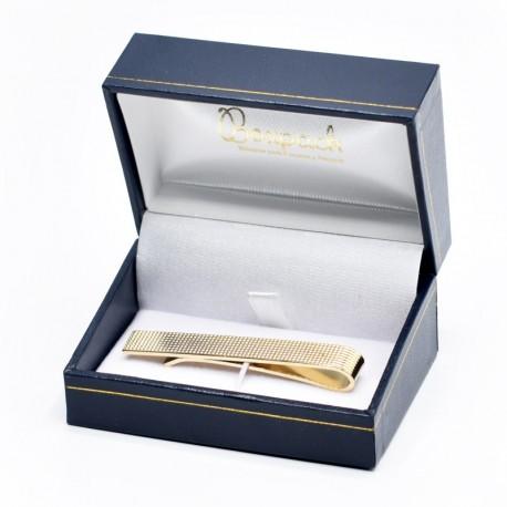 Estuche forrado de imitacion piel para sujeta corbata de joyeria bisuteria y joyas J-05-S