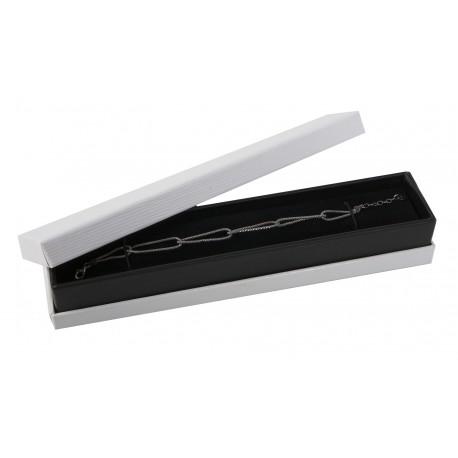 Estuche forrado en polipiel para pulsera extendida de joyeria bisuteria y joyas CL51