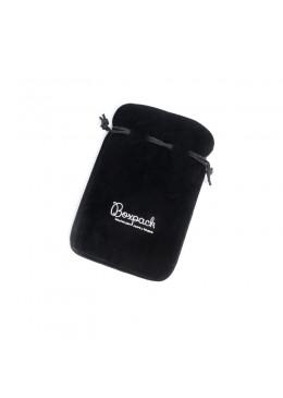 Bolsa de antelina imitacion terciopelo para joyeria bisuteria y joyas F3