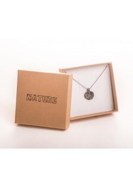 Caja de carton para colgante de joyeria y bisuteria NT81