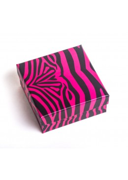 Caja de carton para juego de pendientes y sortija mas colgante de joyeria bisuteria y joyas AP81