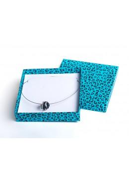 Caja de carton para collar gargantilla de joyeria bisuteria y joyas AP18