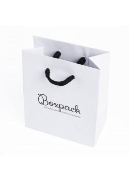 Bolsa de papel mate para joyeria bisuteria y relojeria B-M