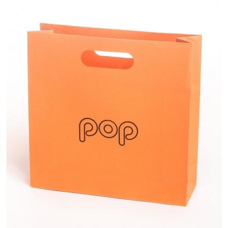 Bolsa de papel de asa troquelada para joyeria bisuteria y joyas BPO-L