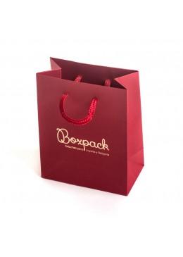 Bolsa de carton con textura para joyeria bisuteria y relojeria BP-M