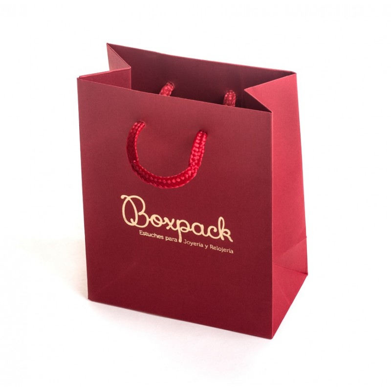 844713625 Bolsa de carton con textura para joyeria bisuteria y relojeria BP-M ...