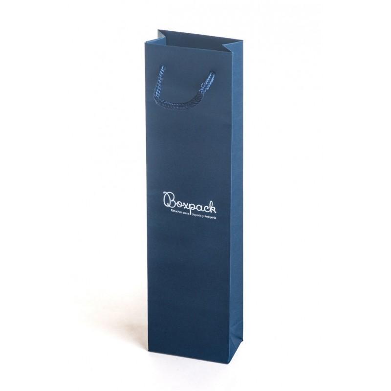 62dc83007 ... Bolsa de carton con textura para joyeria bisuteria y relojeria BP-M
