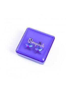 Caja de plastico para pendientes de joyeria y bisuteria A-2