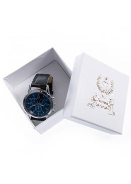 Caja de carton para brazalete o reloj de joyeria y bisuteria especial comunión CMP-89