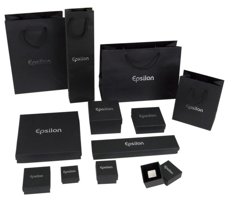 Cajas de carton para joyas bisuteria y joyeria EPSILON